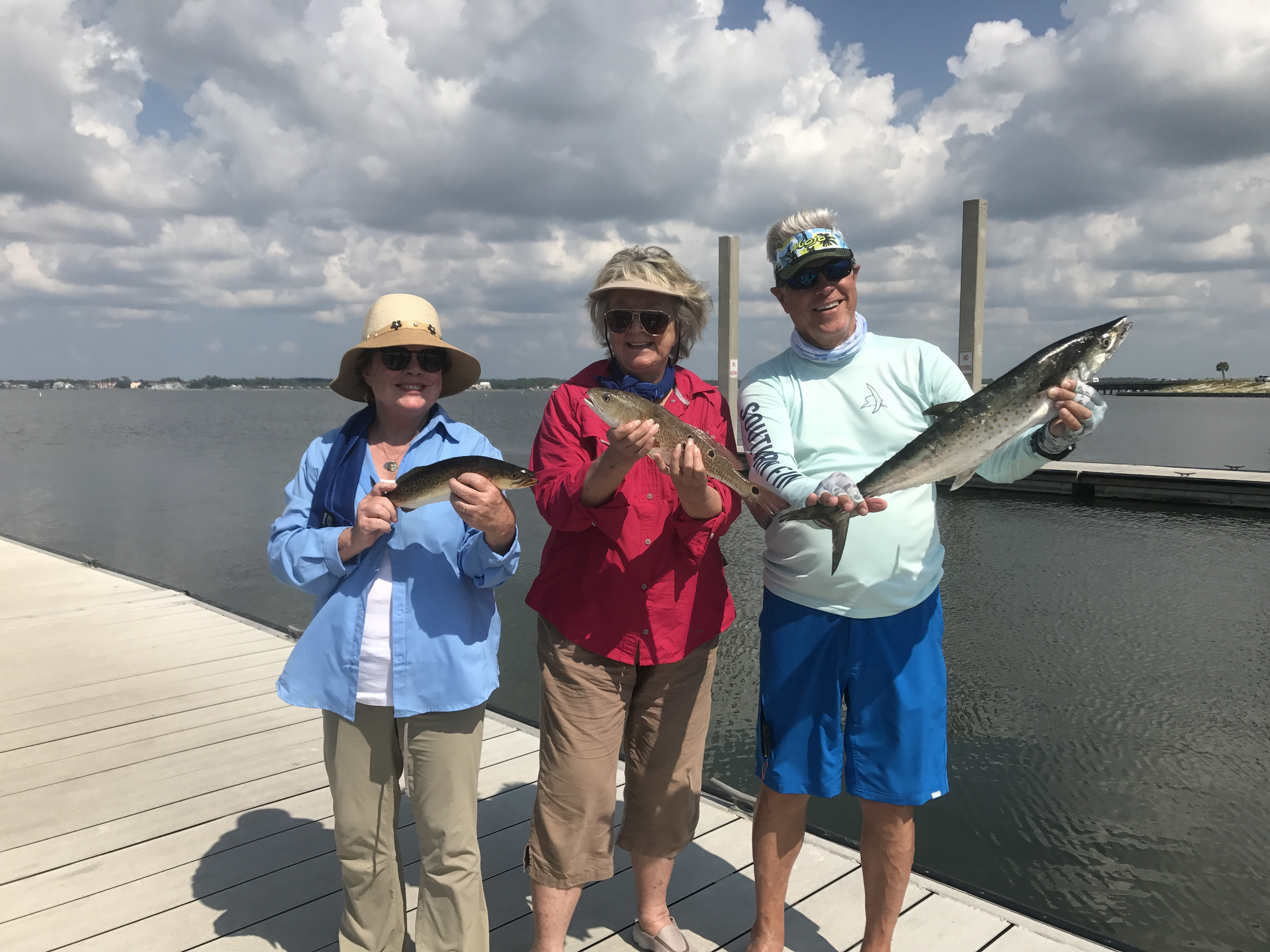 Trout, Mackeral and Redfish! Caught in Navarre Florida